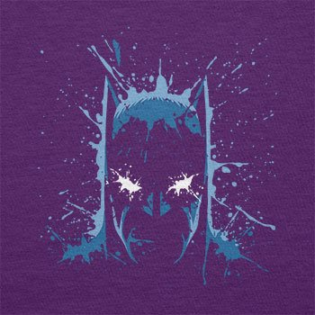 TEXLAB - The Bat Splash - Herren T-Shirt Violett