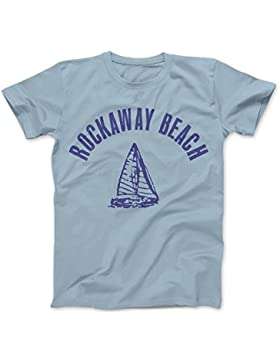 Rockaway Beach As Worn By Johnny Camiseta 100% Algodon