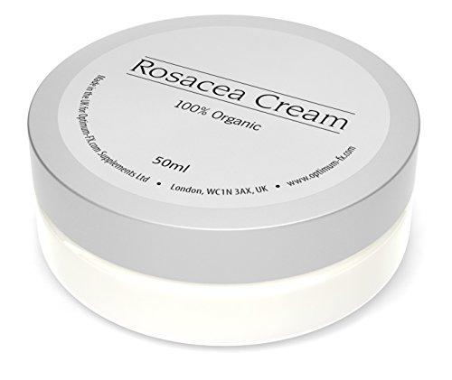 Rosacea Creme Gemacht Mit Natürlichen Und Organischen Bestandteilen Behandeln Sie Rötungen Lindern Sie Juckreiz Und Entzündete Haut 50ml