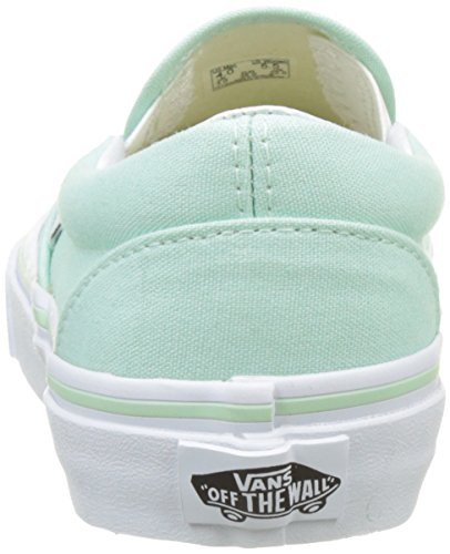 Vans Ua Classic Slip-On, Baskets Basses Femme Vert (Bay/true White)