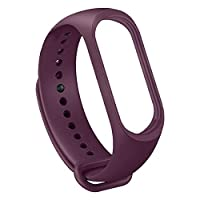 Elementral Replacement Silicone Waterproof Bracelet, Watch Strap Replacement Waterproof Cuff Silicone Strap Replacement Bracelet Colorful Replacement Strap For Xiaomi Mi Band 4/3 good-looking