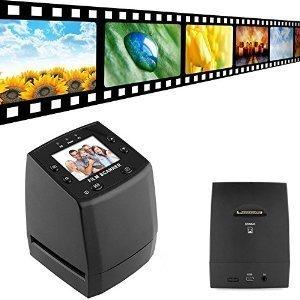 DIGITNOW! Diascanner Hochauflösender wandelt 35mm/135 Negativ- und Diapositive in digitale JPEGs um, speichert die SD-Karte, integrierte Software, 1800 dpi Hohe Auflösung - kein Computer - 2