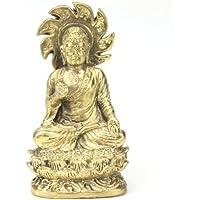 Buddisti e indu Divinita Amuleti - Buddha seduto - Codice prodotto B2 - Tibetana Buddha Seduto Statua