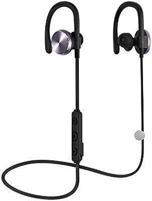 Bluetooth Headset Bluetooth auriculares COULAX CX06inalámbrico auriculares in-ear auriculares a prueba de sudor Deportes de cancelación de ruido auriculares con micrófono/apt-x para Gym, Correr, Jogger, senderismo, ejercicio para iPhone 6S Plus Samsung Galaxy S6S5y teléfonos Android