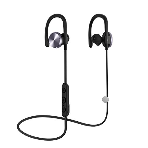 Bluetooth Kopfhörer COULAX Bluetooth 4.1 Wireless Headset In Ear Ohrhörer Noise Cancelling Schweißschutz mit Mikrofon unterstützt 8 Stunden Freisprechen für iPhone 7 6 Plus Samsung