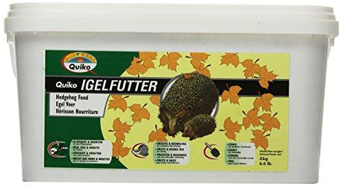 Quiko Igelfutter   hochwertige Vollnahrung - speziell auf die Bedürfnisse des Igels abgestimmt, 3 kg