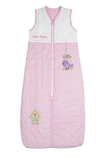 Schlummersack Baby Ganzjahres Schlafsack 2.5 Tog 110cm/12-36 Monate - Little Birdie