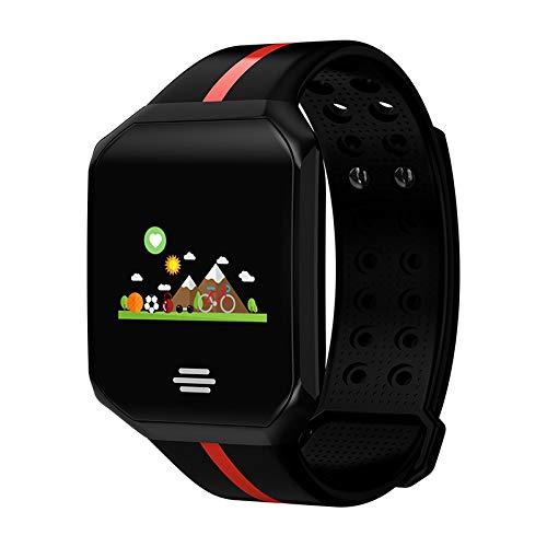 n B07 Farbbildschirm Smart Armband Informationen Push Anrufer ID Herzfrequenz Blut Sauerstoff Blutdruck Erkennung Armband ()