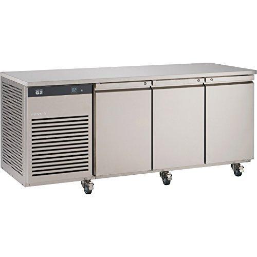 Foster Acciaio Inox Finitura Eco Pro 3 Door Bancone Carne Frigo 435Ltr EP13M 1/1 Gastronorm (R134a Porta Di Servizio)