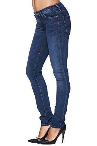 7 for all Mankind Jeans CRISTEN Pacific Shadows – Blau