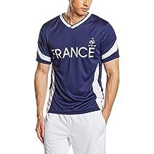 FFF EP3501 - Camiseta de Manga Corta para Hombre, diseño réplica del Equipo de Francia