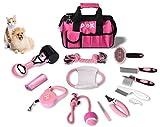 15 teiliges Hundepflegeset Tierpflegeset Fellpflege Krallenpflege Hundespielzeug