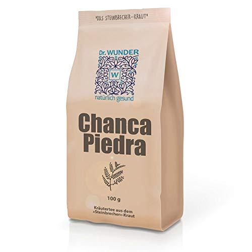Dr. Wunder Chanca-Piedra 100g: Kräutertee aus Wildsammlung zur Leber- und Nierenreinigung || (Phyllanthus niruri L.) »Steinbrecher«-Kraut aus dem Amazonas || Stärkung der Leber- und Gallenfunktion