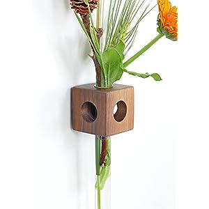 Fenstervase Nuss Blumenvase test tube vase