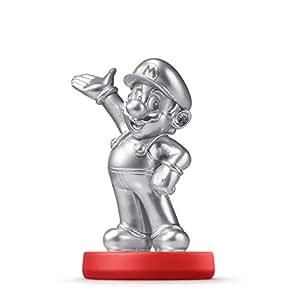 Amiibo - Super Mario Collection Figur: Silver Mario