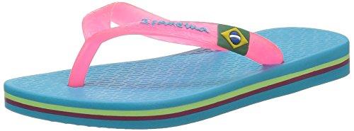 Ipanema Unisex-Kinder Classica Brasil II Sneaker Blau - Bleu (23492)