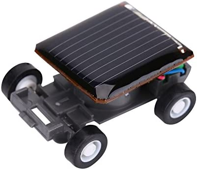 Alomejor Solar Power Toy Car, d'enfants Educational Mini Car Car Car Brain Training Kit Technologie | Faible Coût