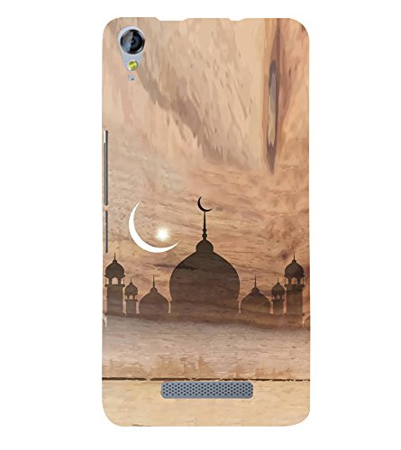 Fiobs Designer Back Case Cover for Micromax Canvas Juice 3 Q392 (Eid...