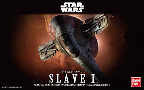 Revell Bandai 01204 Disney Star Wars Slave I originalgetreuer Modellbausatz für Experten, Mehrfarbig, 1/144 (1 Kits Revell Model 144)