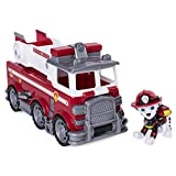 Paw Patrol - 6046151 - Jeu enfant - Véhicule + Figurine Marcus Ultimate Rescue - La...