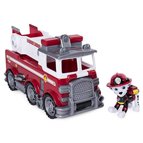 Paw Patrol 6046151 Ultimate Rescue Veicolo Tematizzato Camion dei Pompieri di Marshall