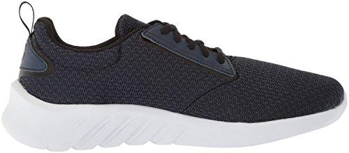 K-Swiss aeronaut, Sneakers Basses Homme Noir (Black Iris/black/white)