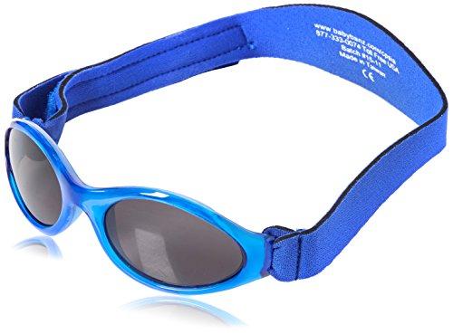 KIDZBANZ Kindersonnenbrille - BLUE Adventure KB000 Unisex - Kinder Babybekleidung Sonnenbrillen, Gr. (2-5 Jahre), Blau