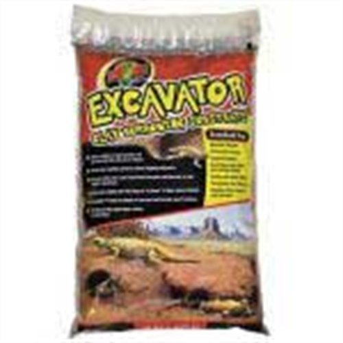 Zoo Med XR-25 Excavator Clay Burrowing Substrate, 11 kg, Bodensubstrat für grabende Reptilien