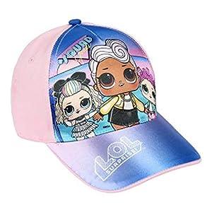 L.O.L. Surprise ! Gorra De Béisbol Premium para Niña | Gorras De Béisbol De Verano para Niñas | Producto Oficial para Niños De Los Accesorios De Las Muñecas