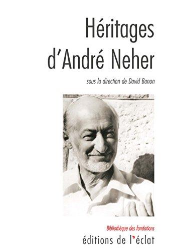 Hritages dAndr Neher