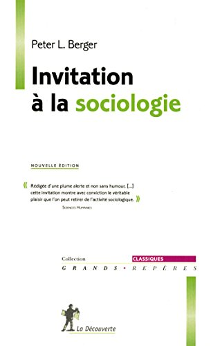 Invitation à la sociologie
