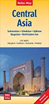 Central Asia nel.map Turkmenistan-Uzbekistan-Kyrgyzstan