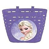 Disney Frozen, Cestino in Plastica Bambina, Viola, Taglia Unica