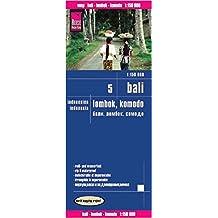 Reise Know-How Landkarte Bali, Lombok, Komodo (1:150.000) - Indonesien 5: world mapping project