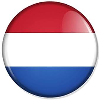 Flagge niederlande holland button badge anstecker - Amazon schminkspiegel ...