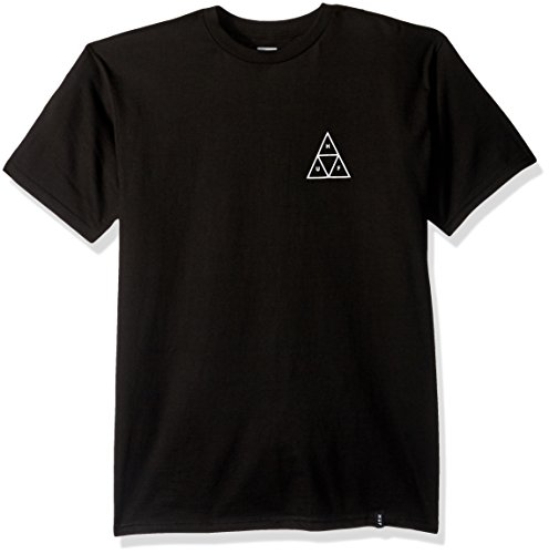 HUF T-Shirts Triple Triangle T-Shirt - Black Black
