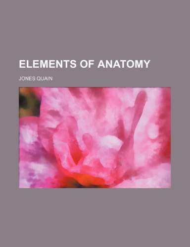 Elements of Anatomy