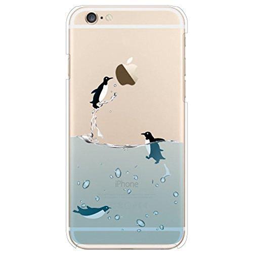 Voguecase® Pour Apple iPhone 6,6s (4,7 pouce), TPU Silicone Shell Housse Coque Étui Case Cover (fille papillon)+ Gratuit stylet l'écran aléatoire universelle Penguins piscine