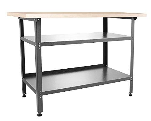 Ondis24 Montagewerkbank Werkstatteinrichtung Werkstatt Werkbank Werktisch Packtisch Basic mit höhenverstellbaren Füßen - 2