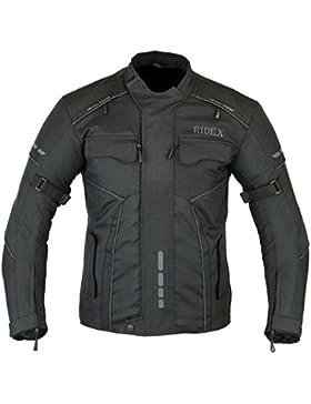 Para hombre con RIDEX CJ3 chaqueta impermeable y resistente al viento para moto motocicletas/agua para ejercitar...
