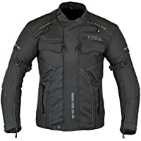 RIDEX para Hombre CJ3 Chaqueta Impermeable y Resistente al Viento para Moto Motocicletas/Agua para