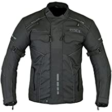 Para hombre con RIDEX CJ3 chaqueta impermeable y resistente al viento para moto motocicletas/agua para ejercitar la fassinas por de mesa con