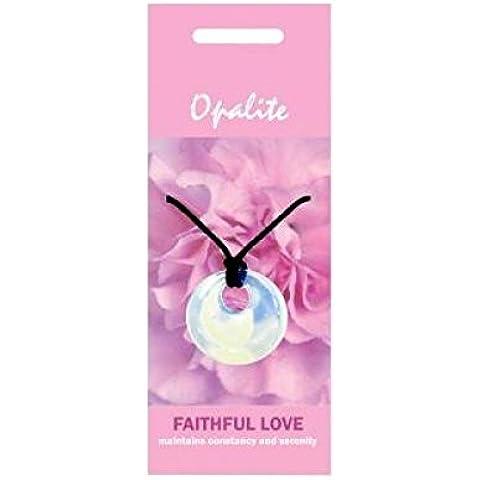 Opalite collana/ciondolo naturale per un amore fedele