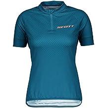 Scott Trail MTN 40 Damen Fahrrad Trikot kurz blau 2019