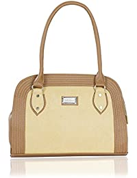 Right Choice Yellow Colour Women's Handbags With Classic,smart Bags With The Size Of (34x23x11cm).