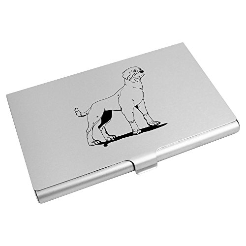 'Rottweiler' Visitenkartenhalter / Kreditkarte Geldbörse (CH00002096) (Rottweiler Geldbörse)