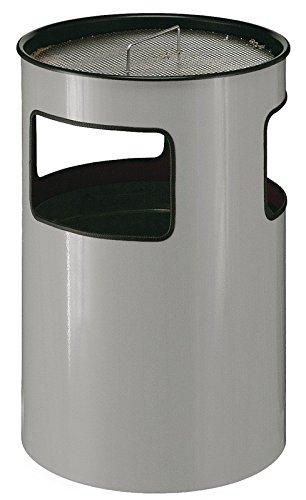 Ascher-Papierkorb, 110 Liter, Farbe:Aluminium