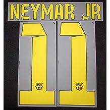 Nike Original 2014 – 2015 Barcelona FC Neymar Jr Flock Home Camiseta Nuevo 835996fffaf1f