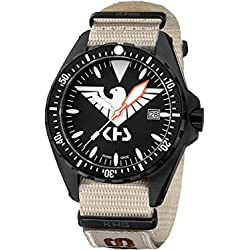 KHS Tactical Watches MissionTimer 3   Eagle One KHS.MTE.NXTLT5 Militär Armbanduhr