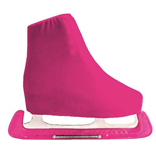 CLE DE TOUS-2x Protectores de Cuchillas para Patines de Hielo Patinaje Universal Adulto/Niño (rosado)
